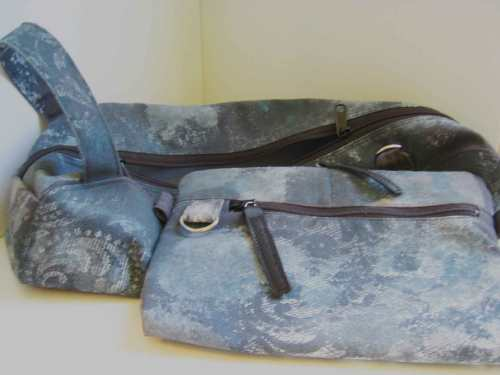 Gray Lace Bags